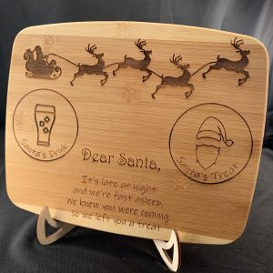 Santa's Treat Cutting Board