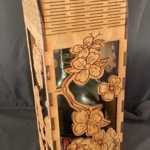 North Carolina Dogwood Wine Bottle Carrier