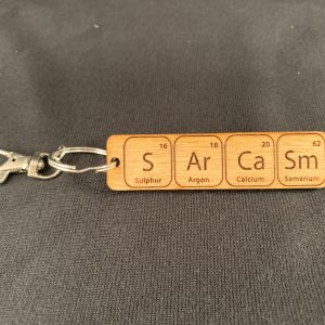 Sarcasm Key Ring