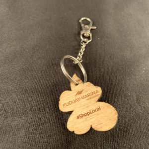 North Carolina Dogwood Key Ring