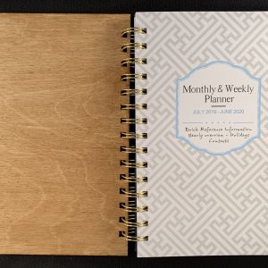 Personalized Planner – Weekly and Monthly
