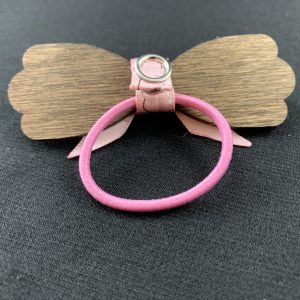 Wooden Hair Bows