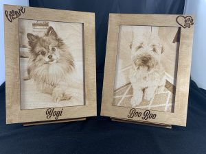 Engraved Pet Photos
